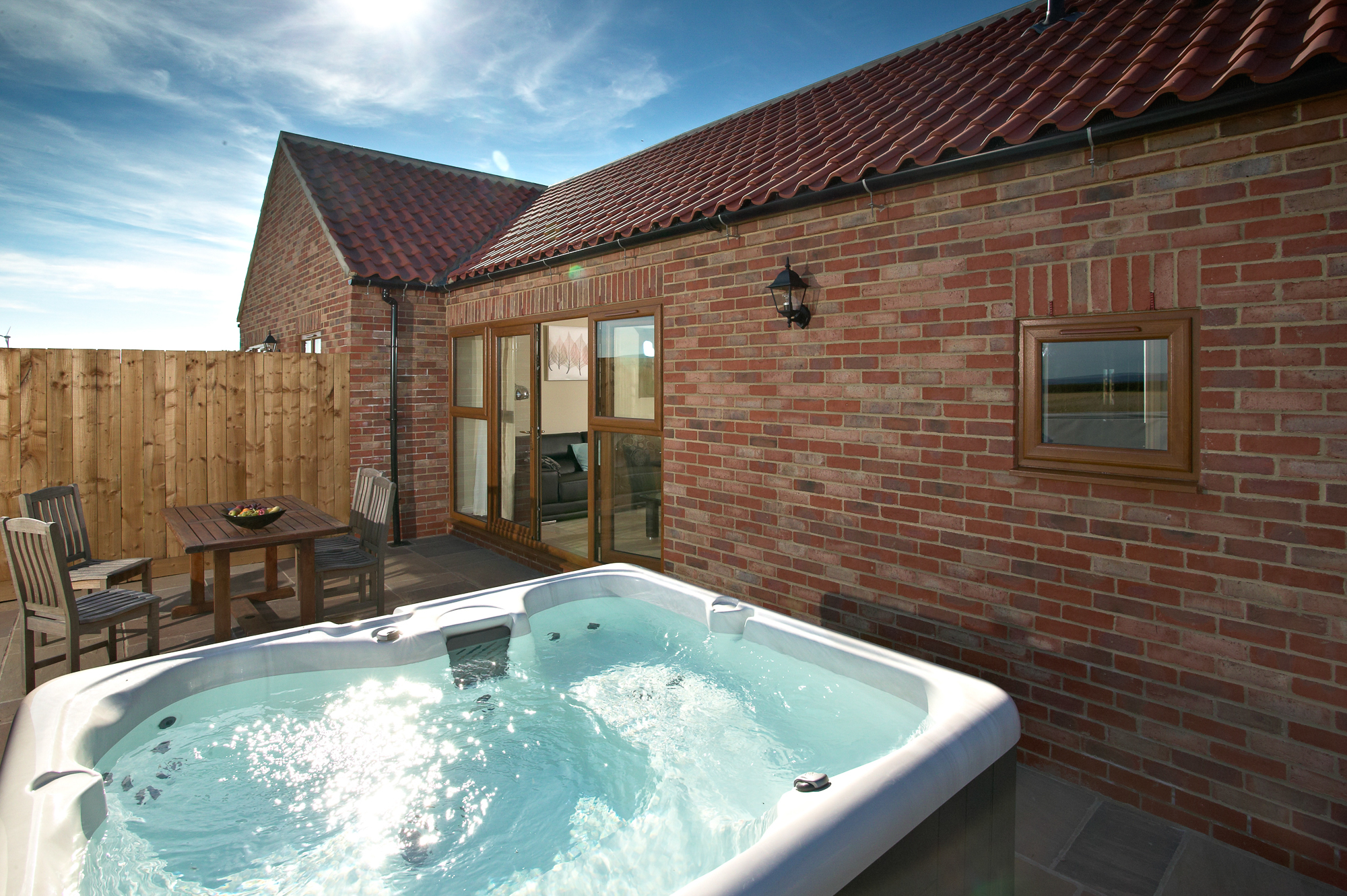 Hot Tubs As Standard Middleton Cottages